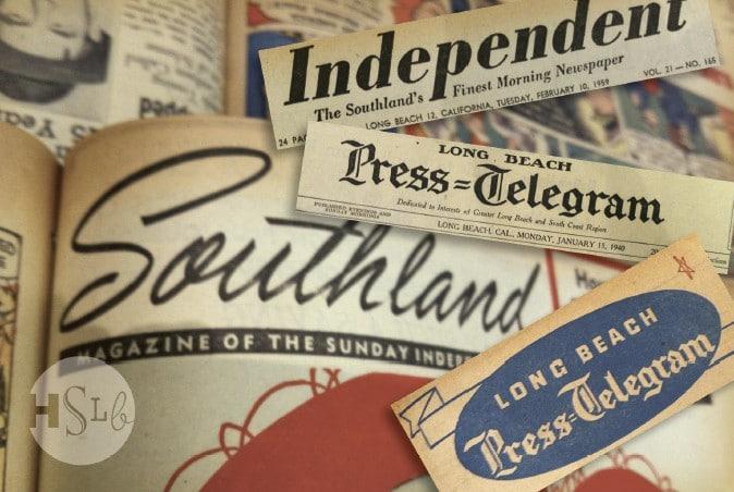 Newspaper Dedication - additional image