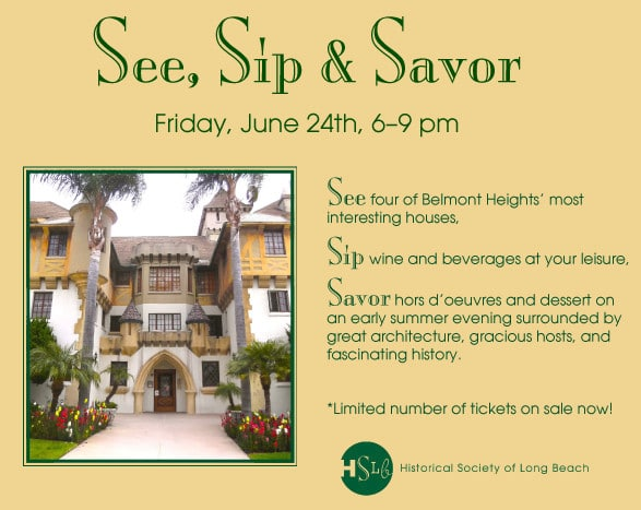 See sip and savor Historical society of long beach front