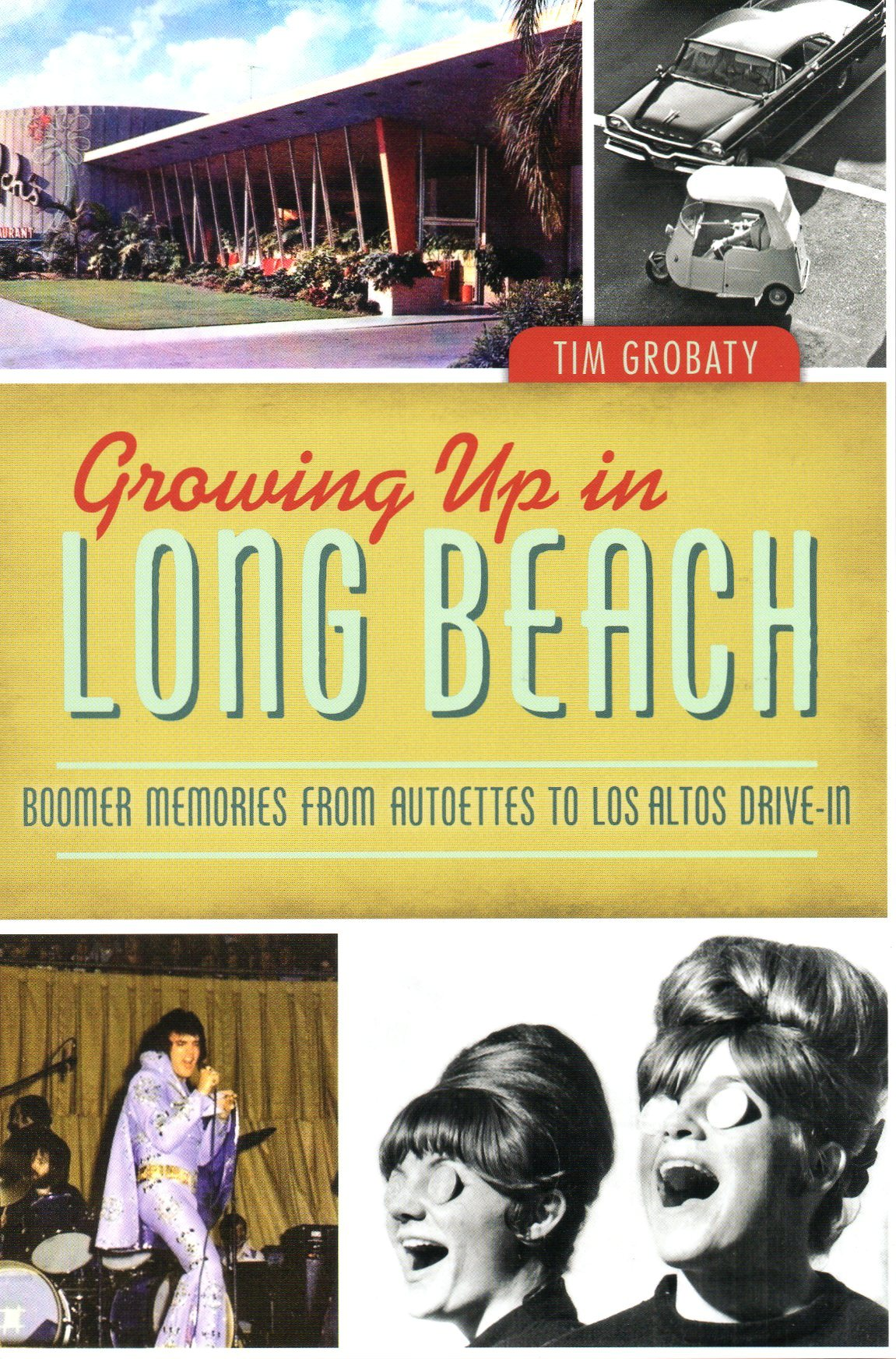 Growing up in Long Beach book cover
