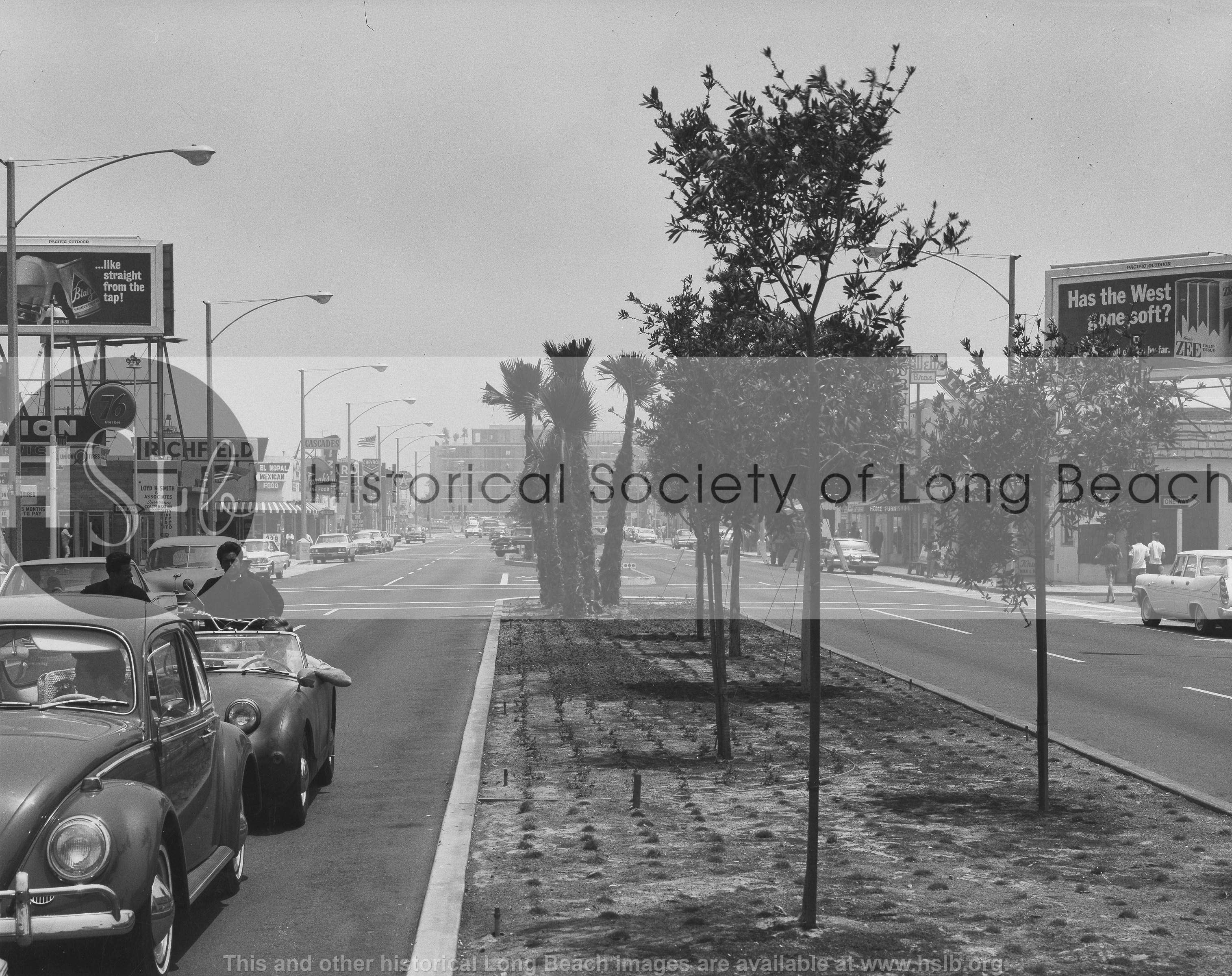 Second Street, 1980s vintage photograph