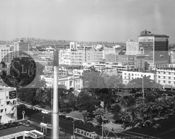 Downtown from the Sovereign, 1941 1