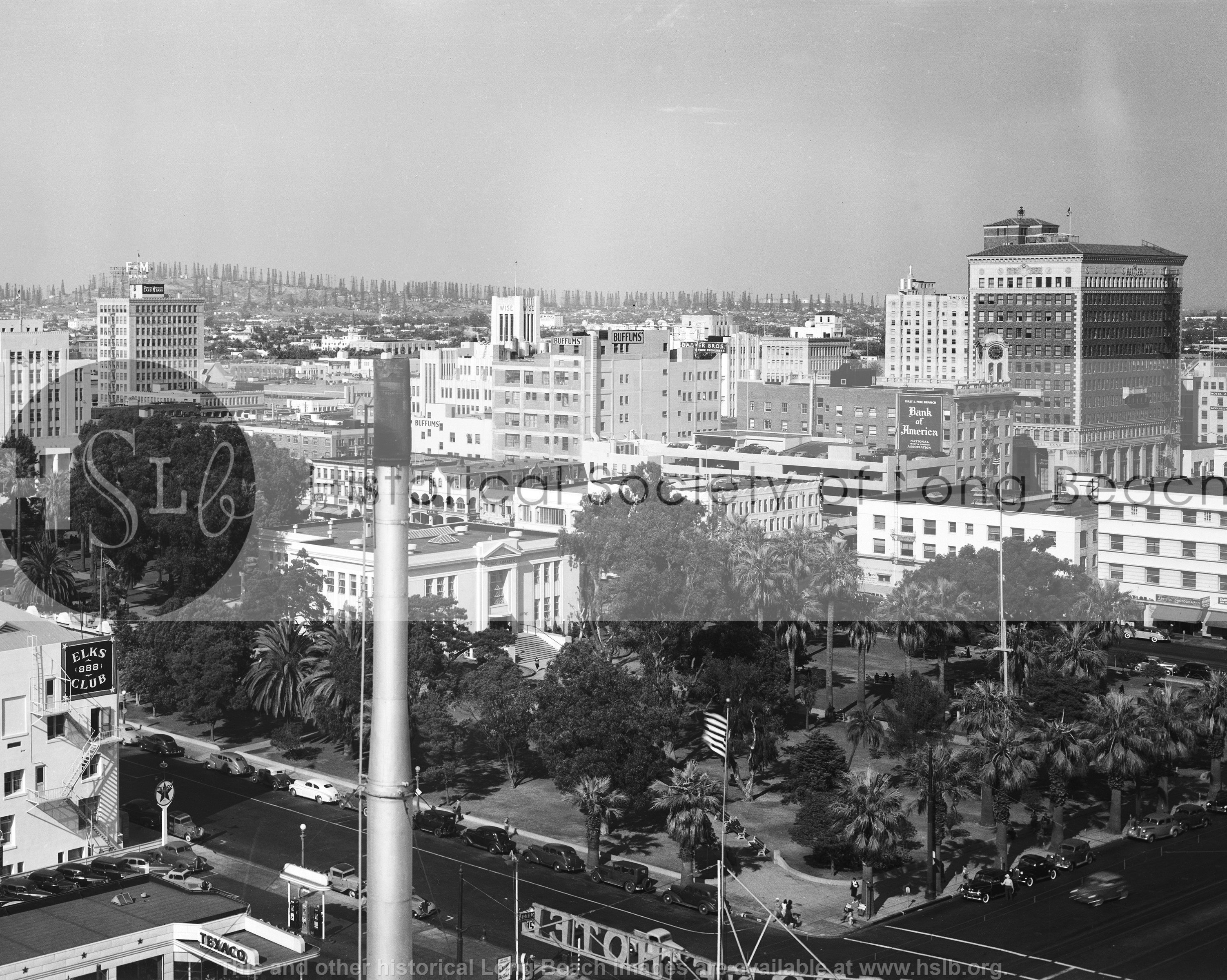 Downtown from the Sovereign, 1941