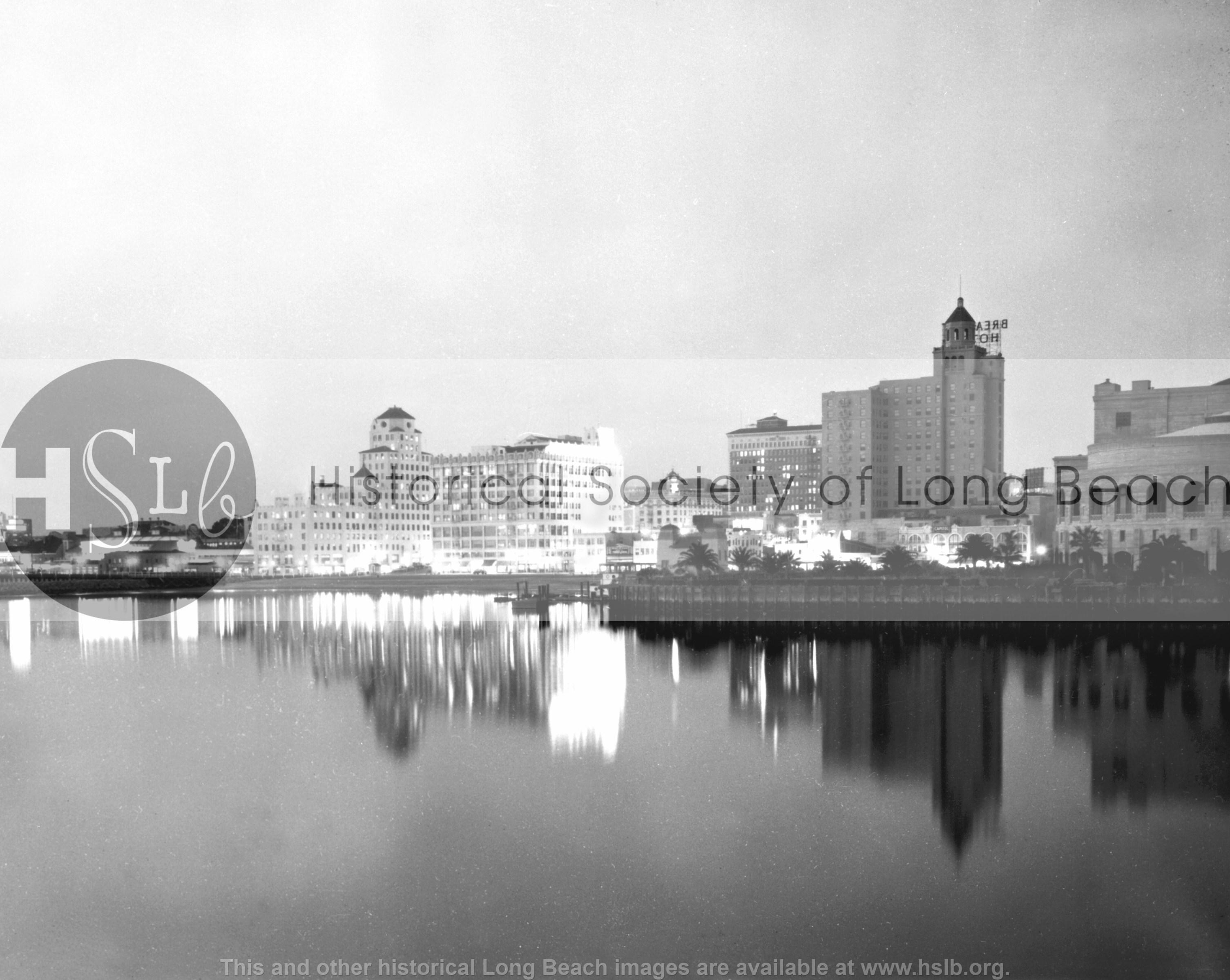 Skyline, 1935 Historical photograph
