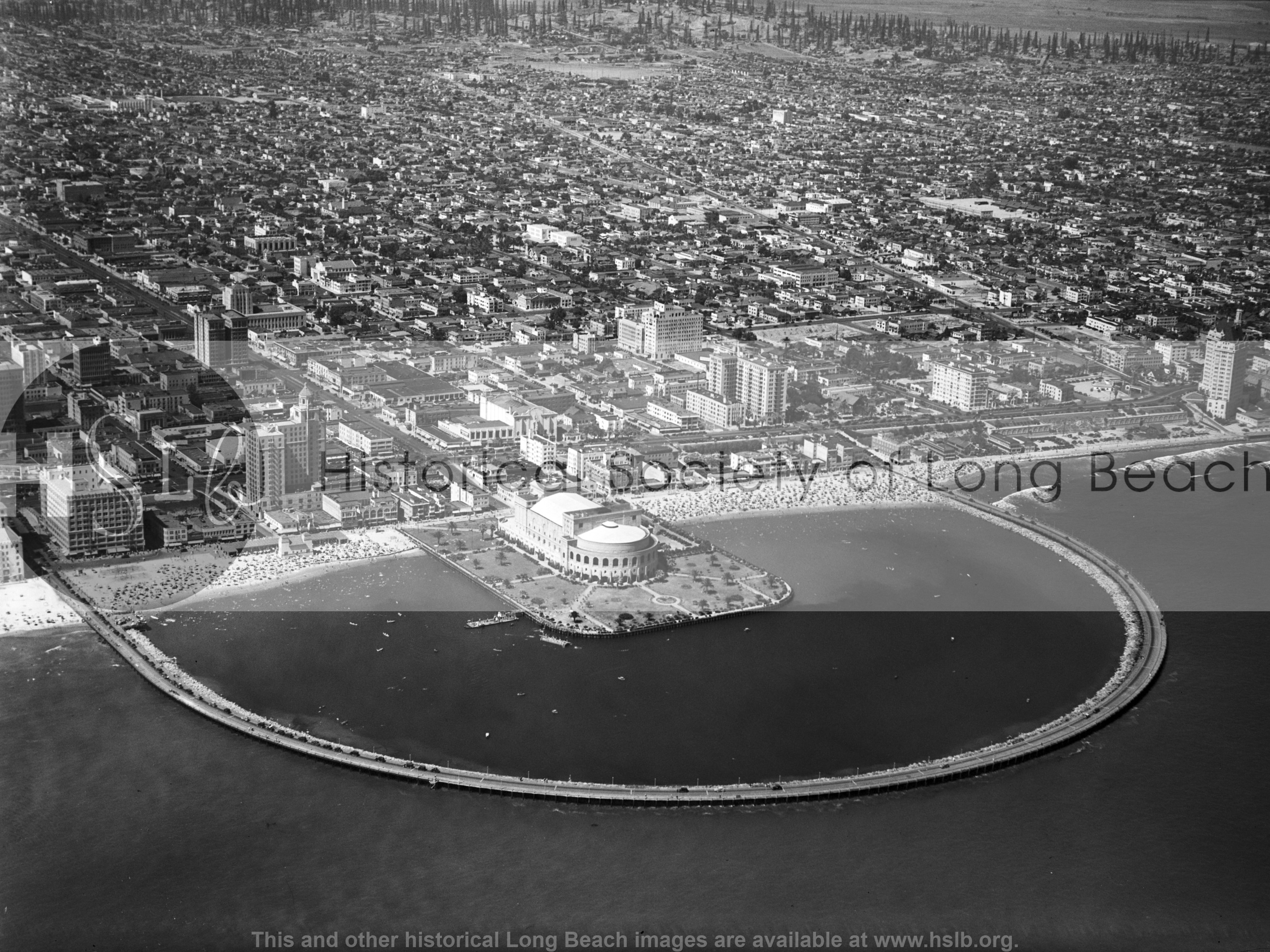 Rainbow Lagoon, 1936 historical photo