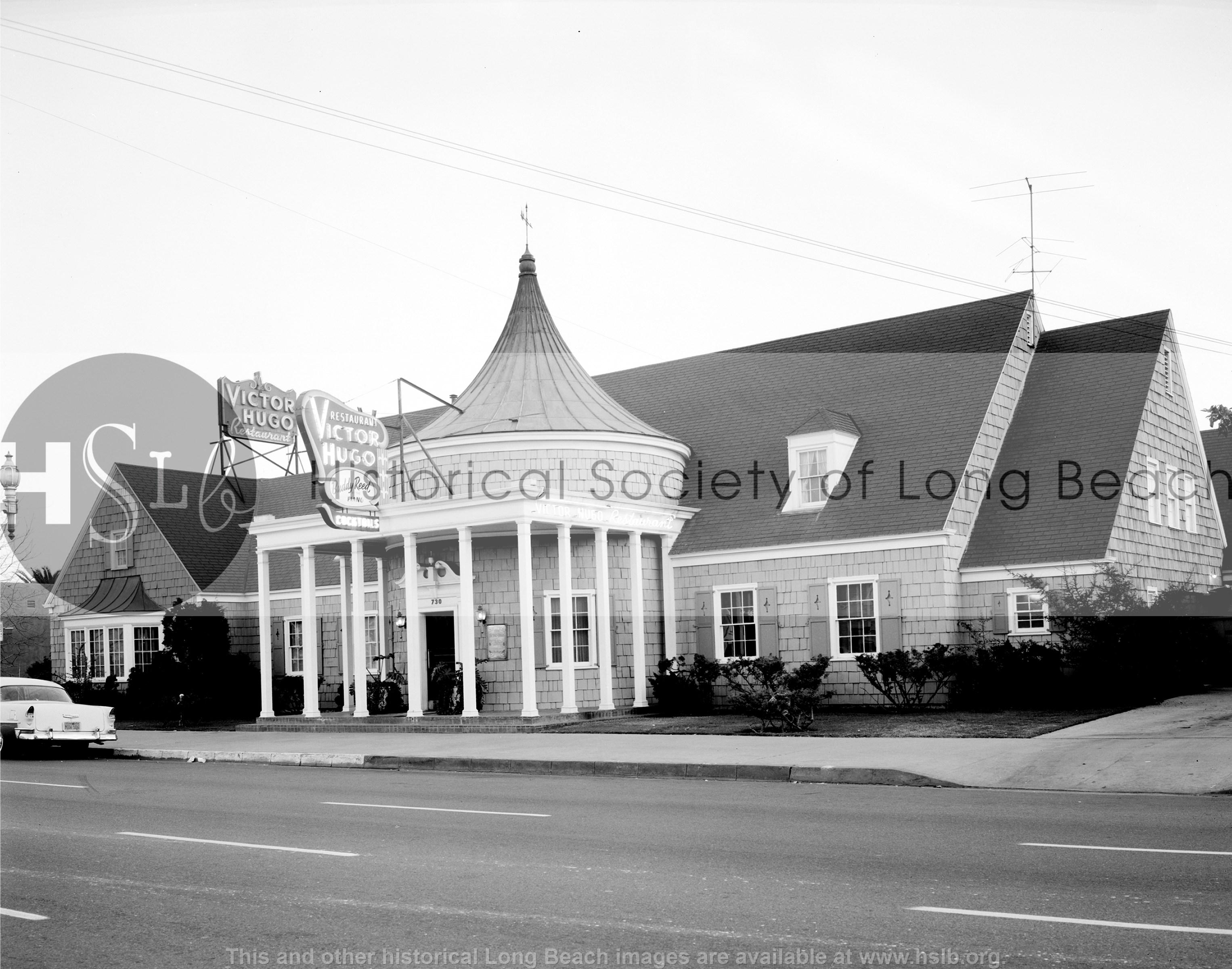 Victor Hugo restaurant, 1959