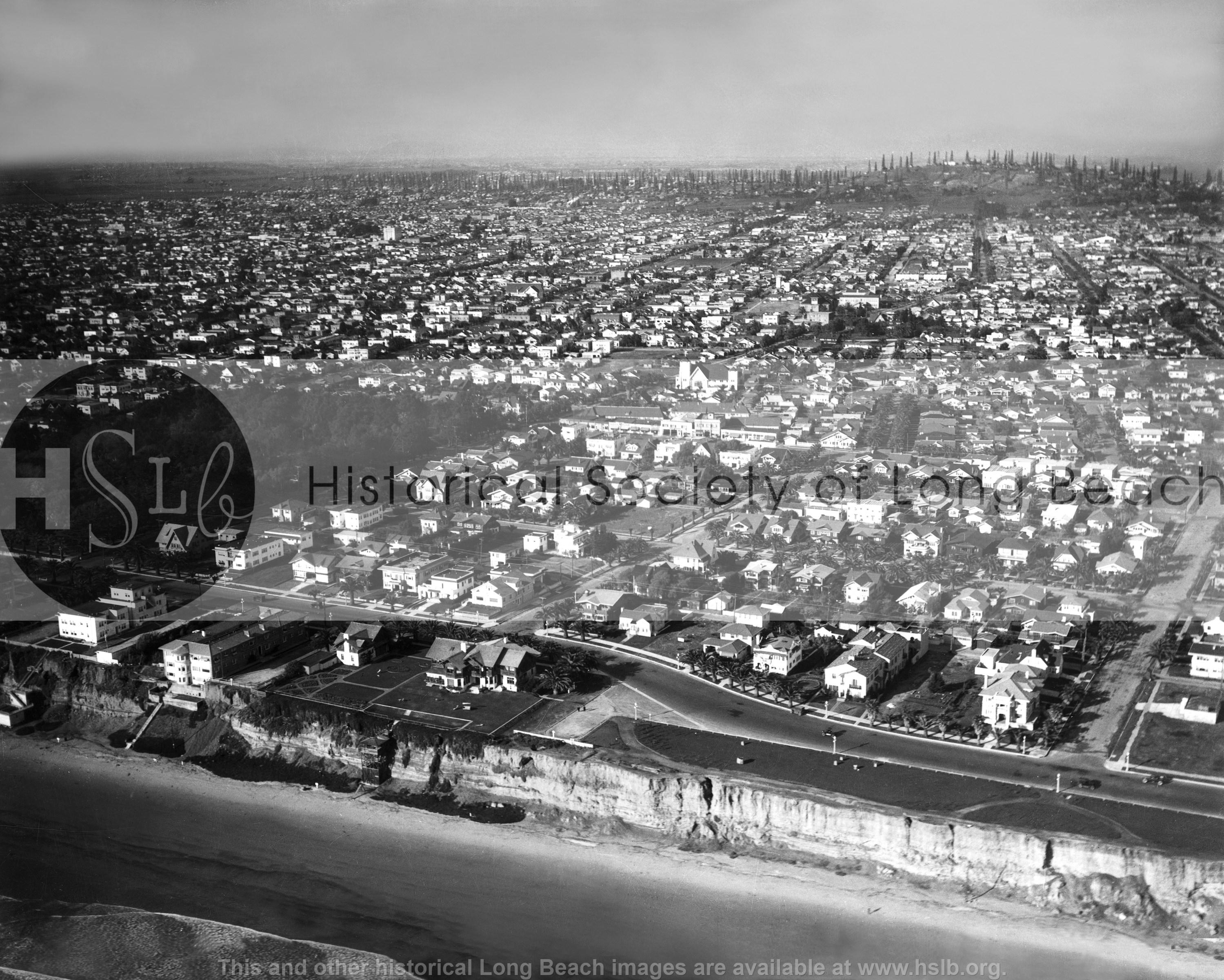 Bluff Park aerial, 1927 vintage photograph