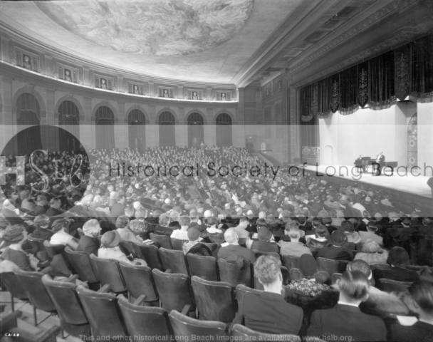 Concert hall Municipal Auditorium, 1932