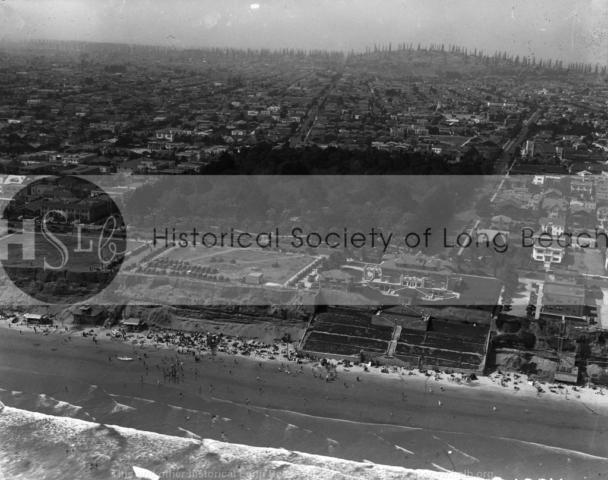 Bixby Park aerial, c. 1929