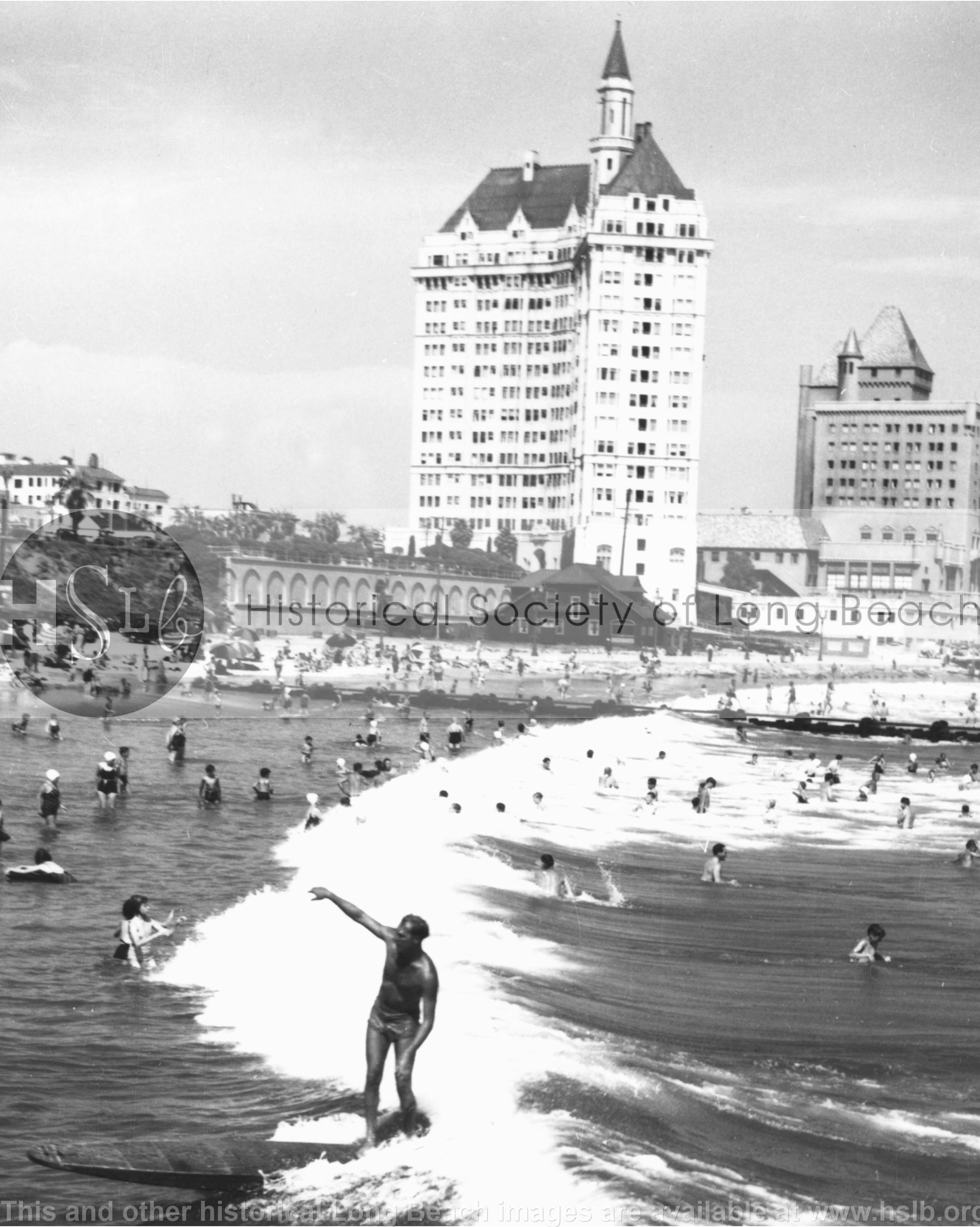 Villa Surfer, 1938 vintage photograph