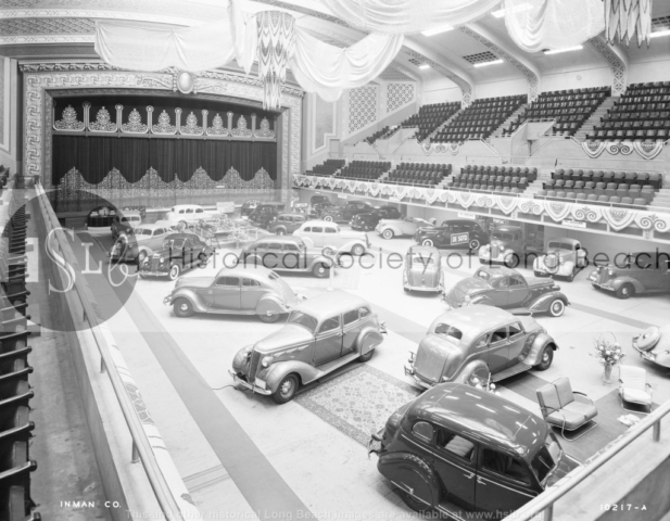 Auto Show Municipal Auditorium, 1935