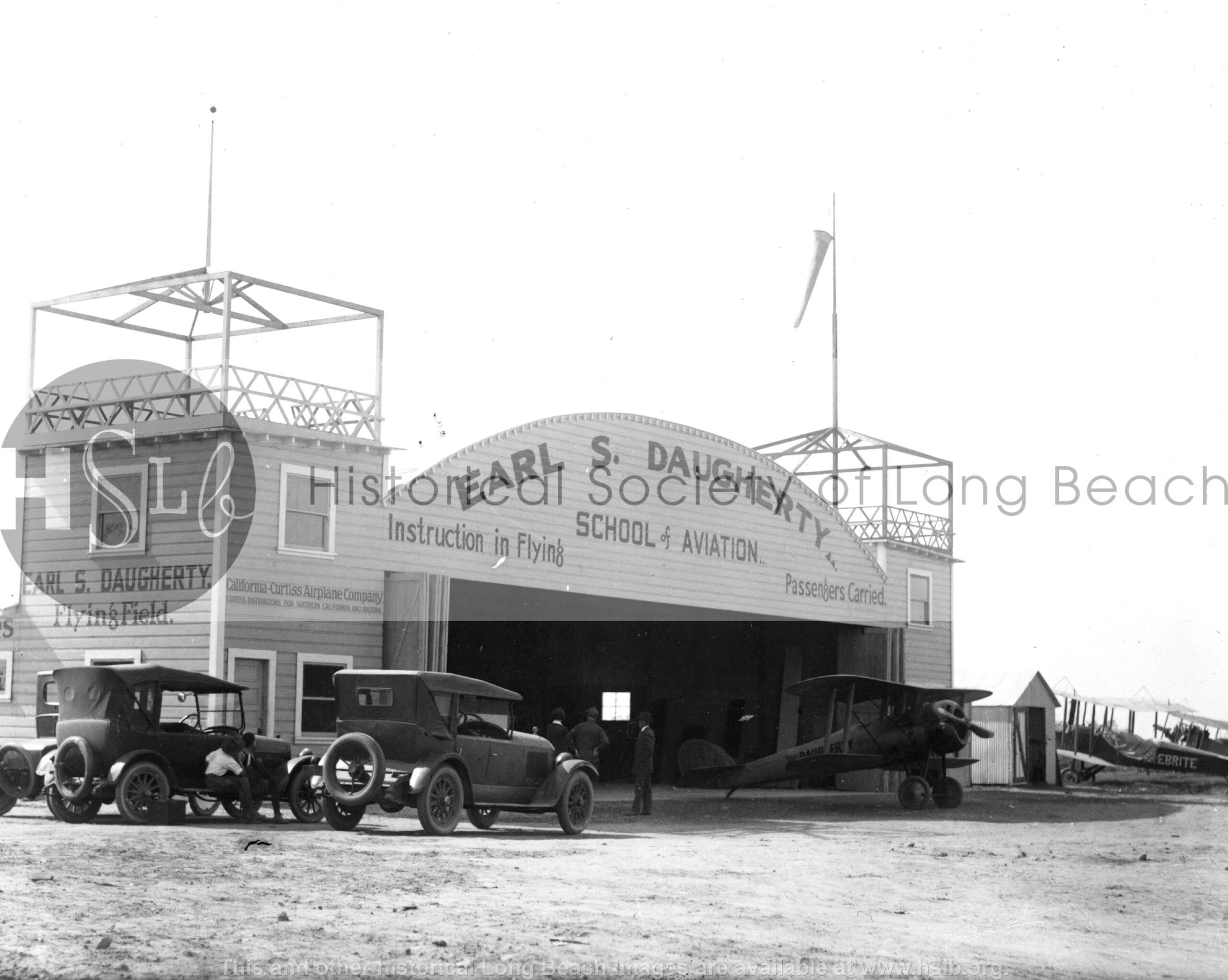 Daugherty School of Aviation, c. 1921