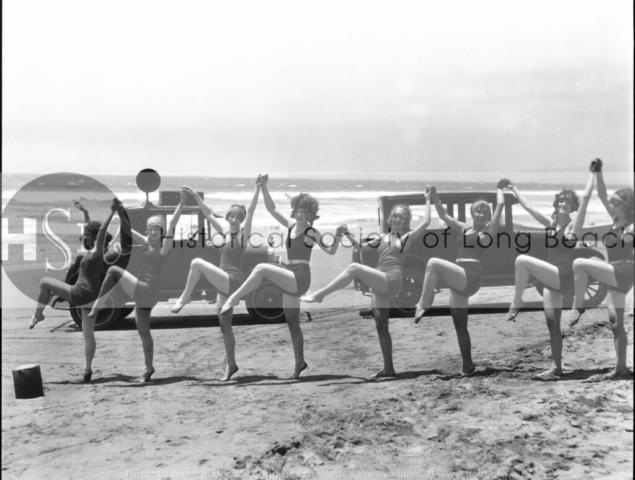 Bathers dancing, c. 1925