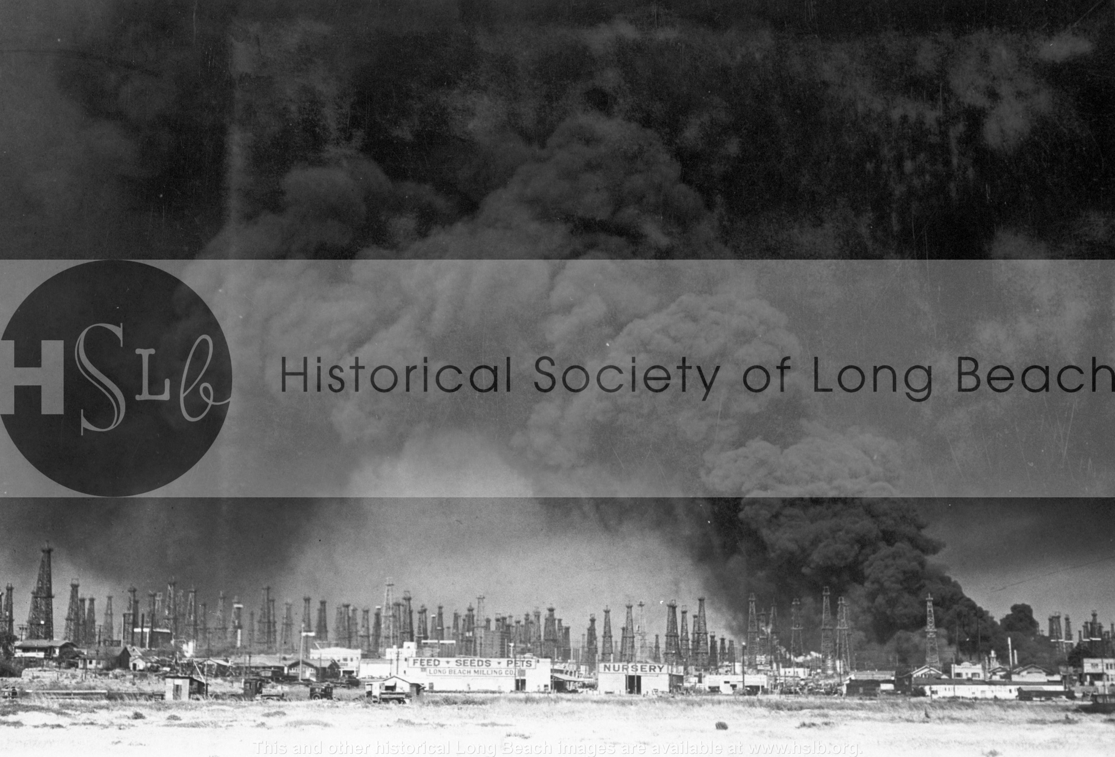 Refinery explosion, 1933