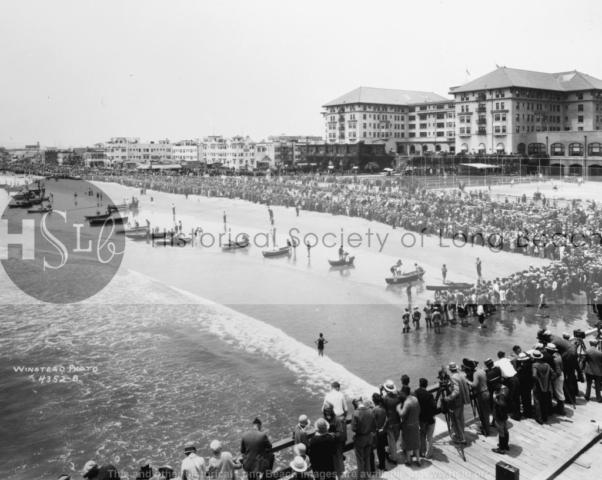 Virginia Hotel skiff race, 1927
