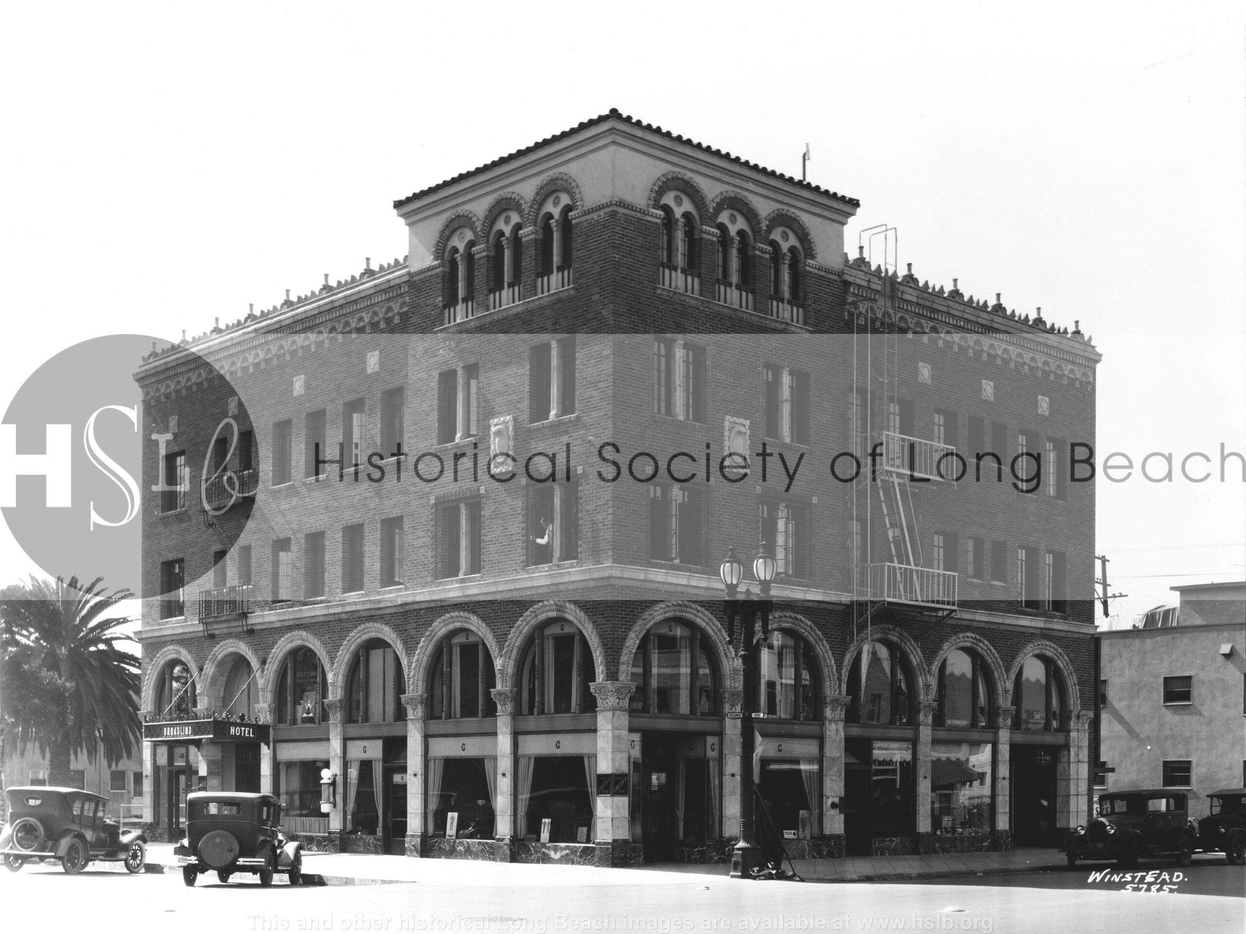 Broadlind Hotel, 1929