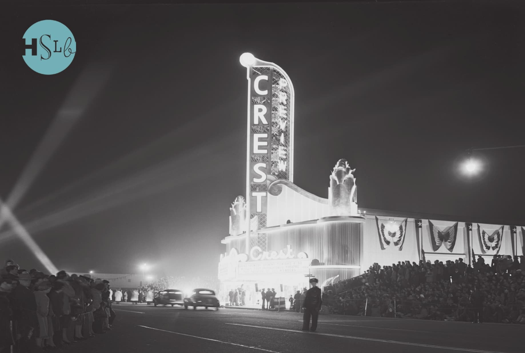 Crest Theater historical opening