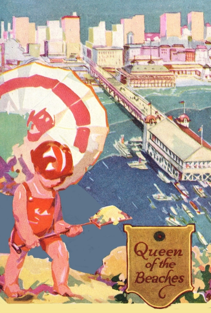 Queen of the Beaches - postcard_final (front)