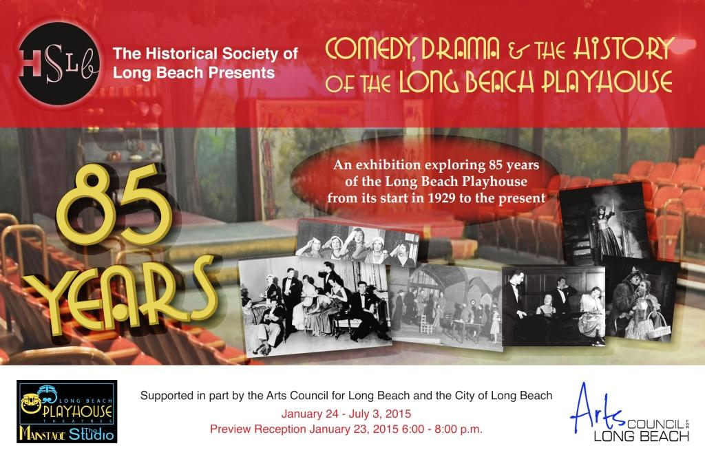 Comedy drama and history of the long beach playhouse