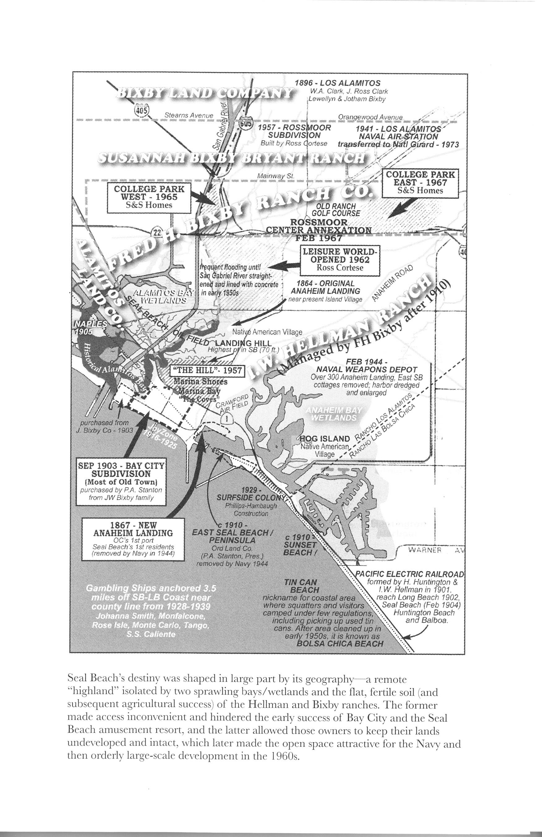 Seal beach book image map