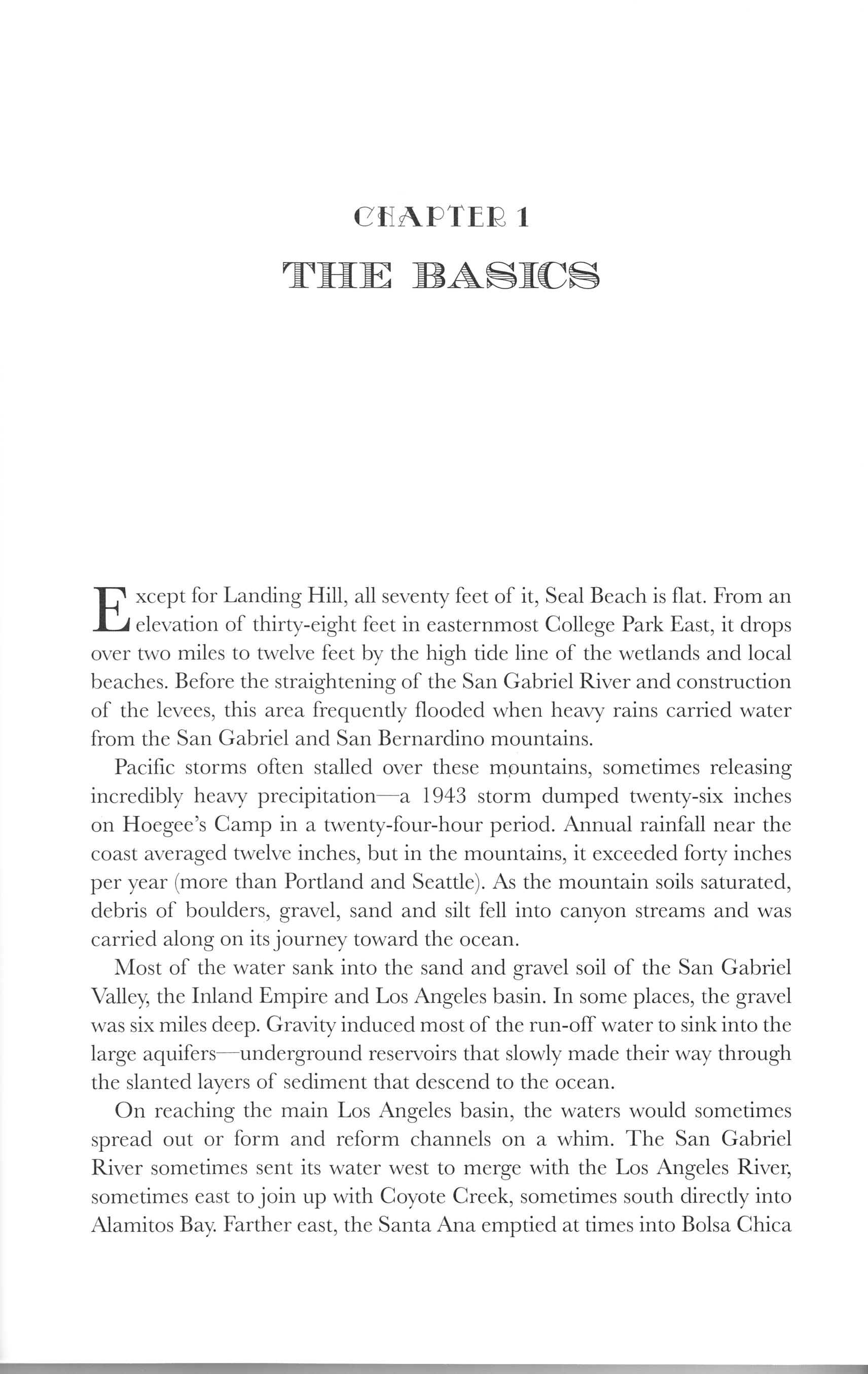 Seal beach book image chapter 1 the basics