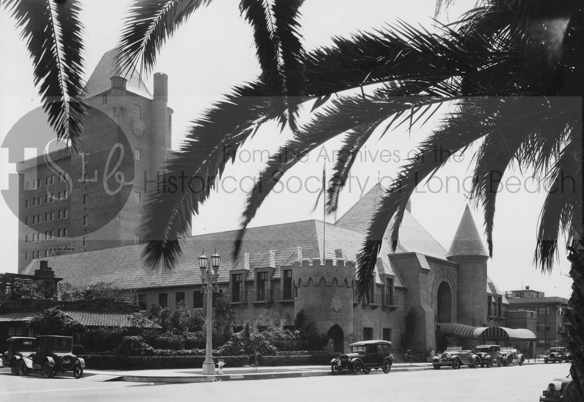 Long beach castle historical photo