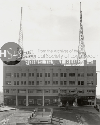 Jergins Trust building and State Theatre, c. 1927