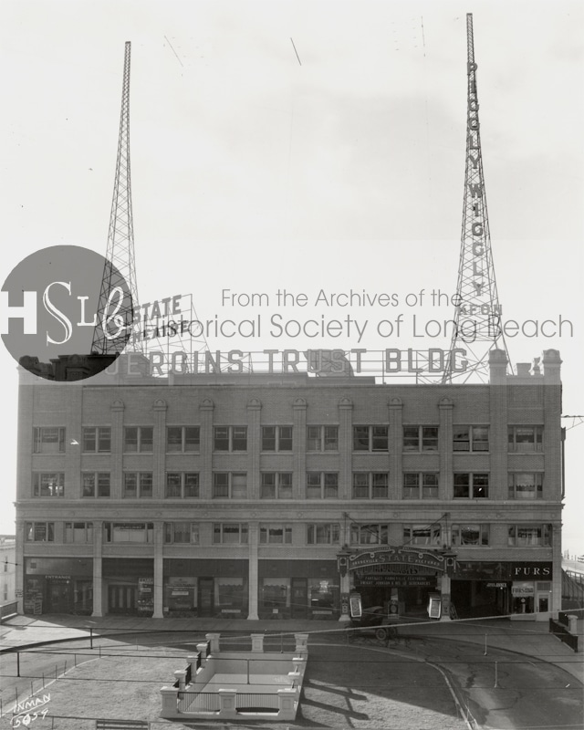 The Jergins Trust building in 1925