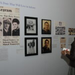 Long beach historical society opening reception Pearl harbor vintage newspapers and photos