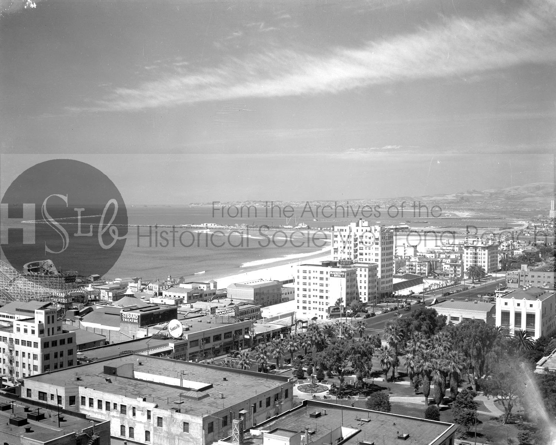 Long beach Historical society vintage photograph