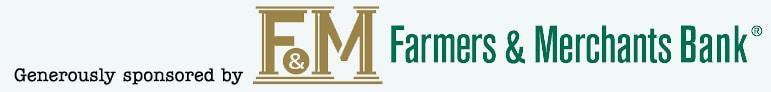 Sponsored by Farmers merchants bank