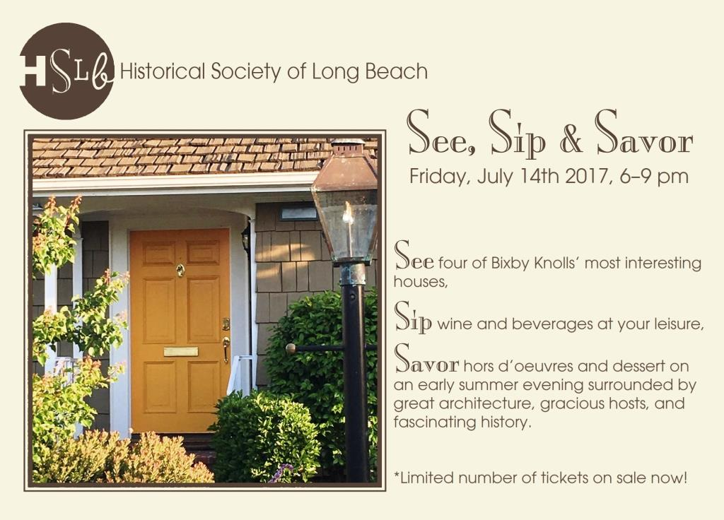 See, sip and savor in Bixby Knolls'