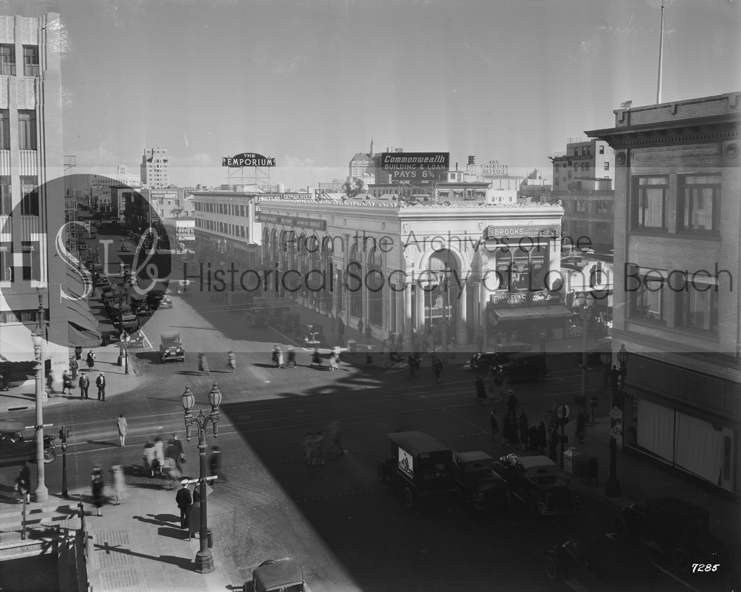 Historical society photo long beach streets and roads