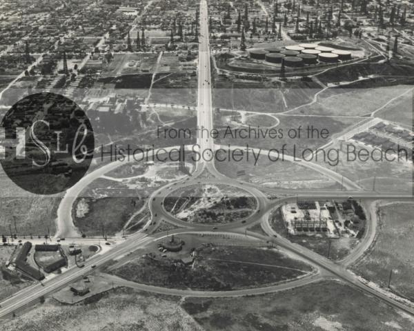 Traffic Circle aerial, 1947