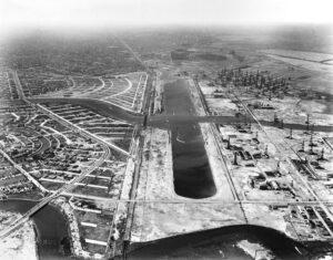 SAE4242 Marine Stadium Aerial West