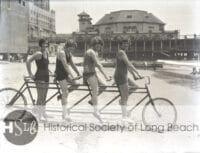 HSLB women on bike at the pike