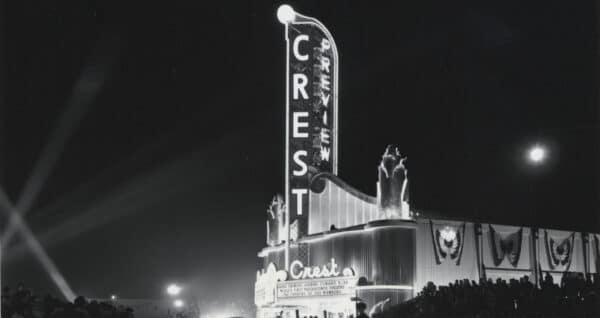 Crest review movie theatre opening