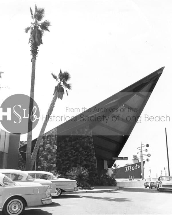 Long beach motel spike vintage photo