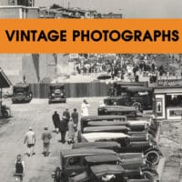 Vintage Photograph Orders Historical Society of Long Beach