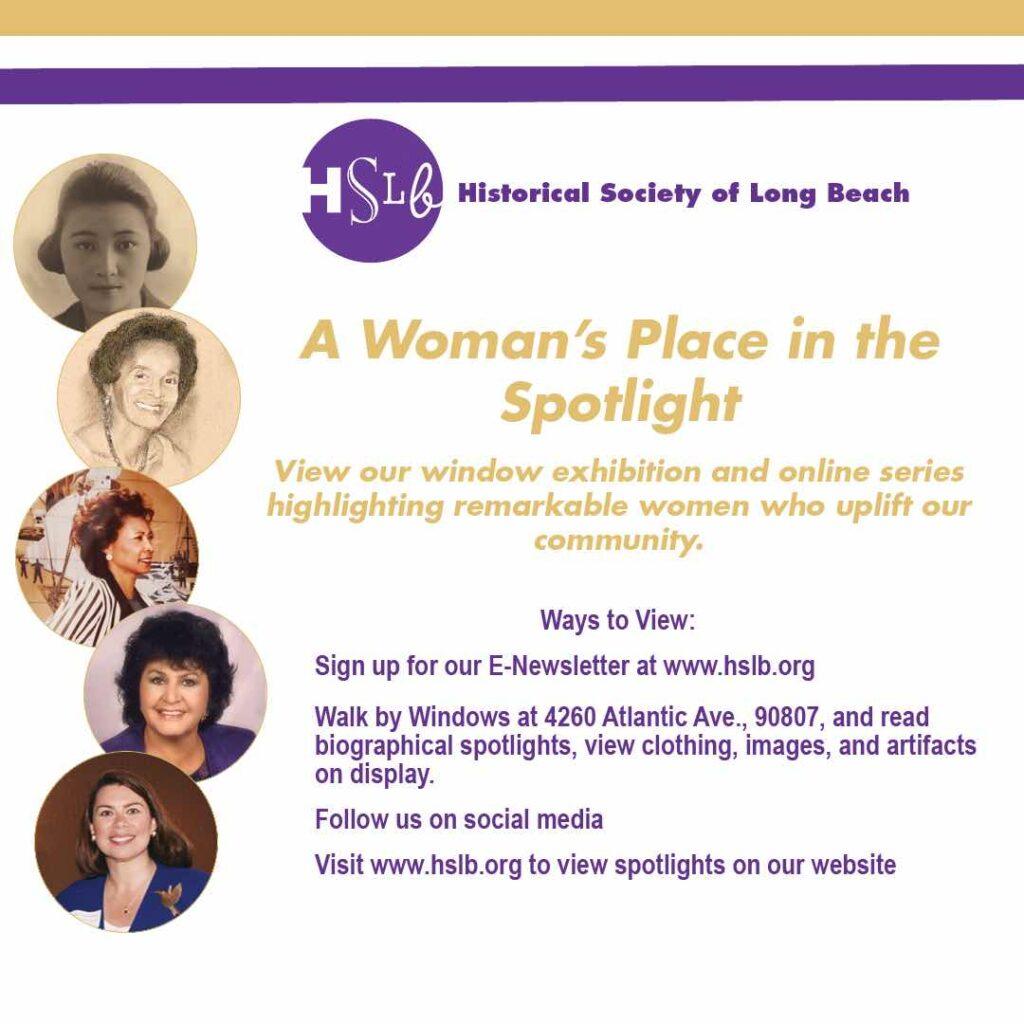 HSLB historical society of long beach womans spotlight 2021